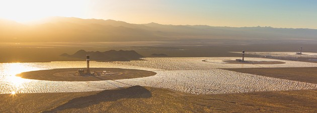 Brightsource Ivanpah concentrating solar thermal power plants: Utility-scale solar no longer makes sense
